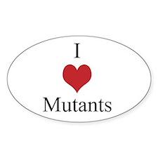 I Love Mutants Decal