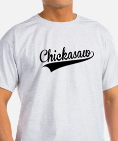 Chickasaw, Retro, T-Shirt