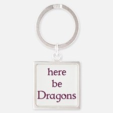 Here Be Dragons 002c Keychains