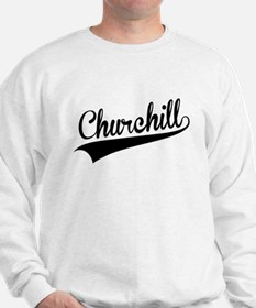 Churchill, Retro, Sweatshirt