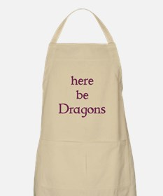 Here Be Dragons 002c Apron