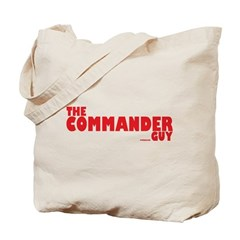 The Commander Guy Tote Bag