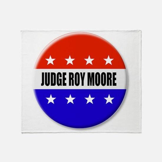 Judge Roy Moore Throw Blanket
