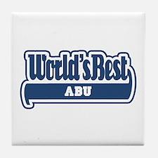 WB Dad [Urdu] Tile Coaster