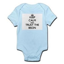 Keep calm and Trust the Bison Body Suit