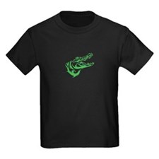 Green Alligator Head T-Shirt