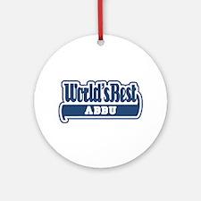 WB Dad [Urdu] Ornament (Round)
