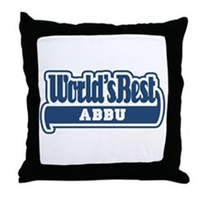 WB Dad [Urdu] Throw Pillow
