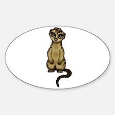 cute Meerkat Decal