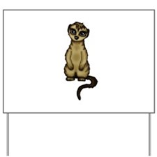 cute Meerkat Yard Sign