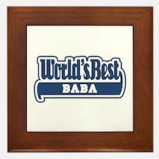 WB Dad [Worldwide] Framed Tile