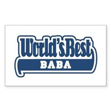 WB Dad [Worldwide] Rectangle Decal