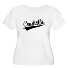 Coushatta, Retro, Plus Size T-Shirt