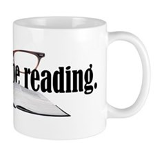 I'd Rather Read Small Mugs