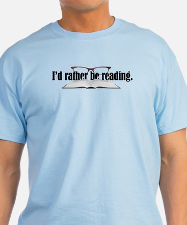 Rather Read T-Shirt