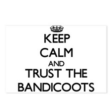 Keep calm and Trust the Bandicoots Postcards (Pack