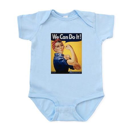Rosie the Riveter Infant Creeper