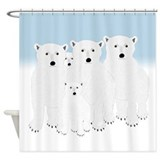 Polar bear Shower Curtains