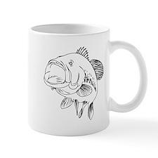 Large Mouth Bass Mugs