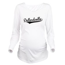 Dallardsville, Retro, Long Sleeve Maternity T-Shir