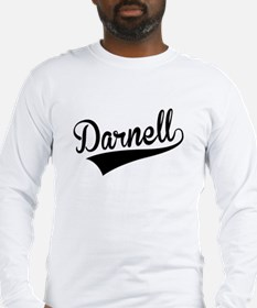 Darnell, Retro, Long Sleeve T-Shirt