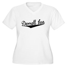 Darrell Issa, Retro, Plus Size T-Shirt