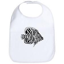 Zebra Tropical Fish Bib