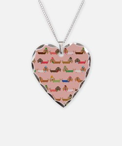 Delightful Dachshunds Necklace