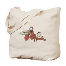Lobster Moving to Maine Tote Bag