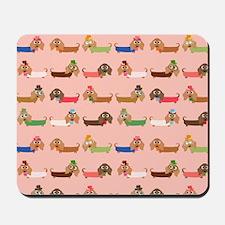 Delightful Dachshunds Mousepad
