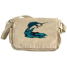 Blue Marlin Messenger Bag
