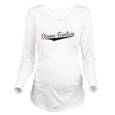 Dianne Feinstein, Retro, Long Sleeve Maternity T-S