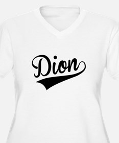 Dion, Retro, Plus Size T-Shirt