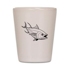 Tuna Fish Shot Glass