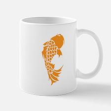 Orange Coy Fish Mugs