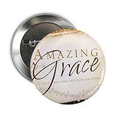 """Amazing Grace 2.25"""" Button"""