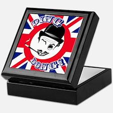 "Film Cad's Union Jack ""Ding Dong!"" Keepsake Box"