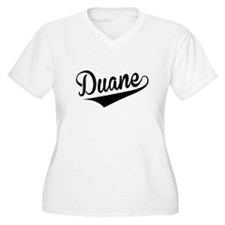 Duane, Retro, Plus Size T-Shirt