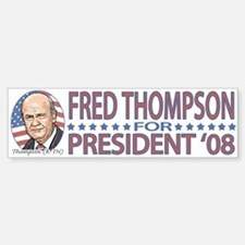 Fred Thompson 2008 Bumper Bumper Bumper Sticker