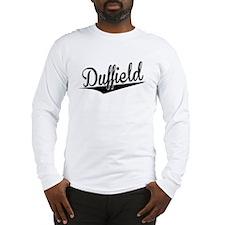 Duffield, Retro, Long Sleeve T-Shirt