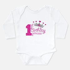 1st Birthday Princess Body Suit