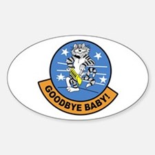 F-14 Tomcat Goodbye Oval Decal