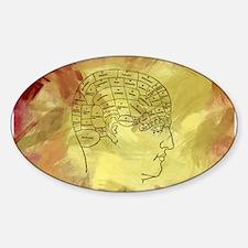 Brain Map Decal