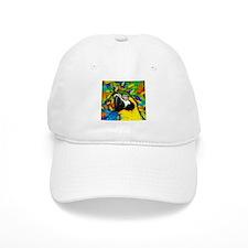 Gold and Blue Macaw Parrot Fantasy Baseball Baseball Cap