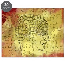 Brain Map Puzzle
