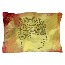 Brain Map Pillow Case