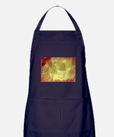 Brain Map Apron (dark)