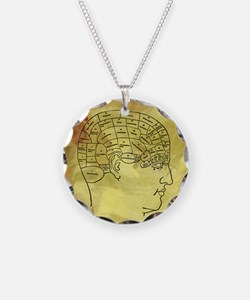 Brain Map Necklace