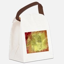 Brain Map Canvas Lunch Bag