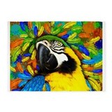 Parrot 5x7 Rugs